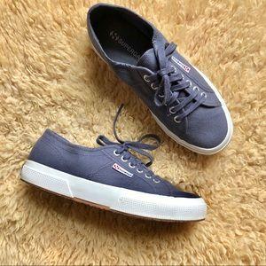 Superga Classic Shoe 2750- Blue Shadow sz 9